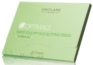 Матирующие салфетки Oriflame