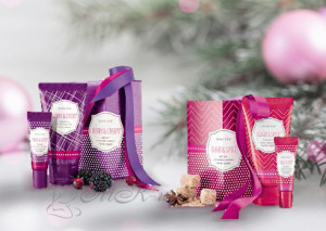 Подарочные наборы «Ягодный коктейль» и «Сладкая ваниль»